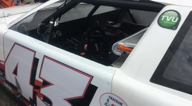 O'Connell and TVU Networks Debut In-Car Facebook Live at Claremont Speedway (NH)