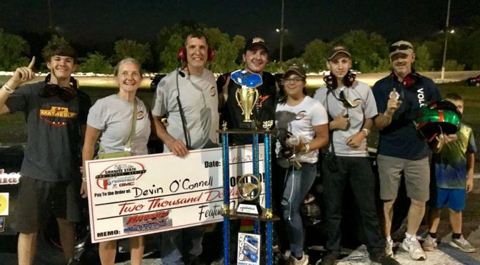 Former Legends Standout O'Connell Nets First Pro Stock Win
