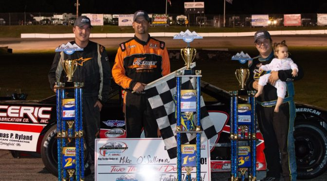 O'Connell Makes Late Race Charge to Capture Second at White Mountain Motorsports Park